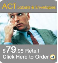 ACT Labels Package