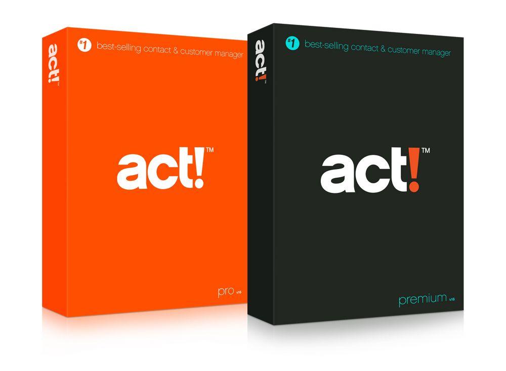 Act! v16 (aka Act! 2014)